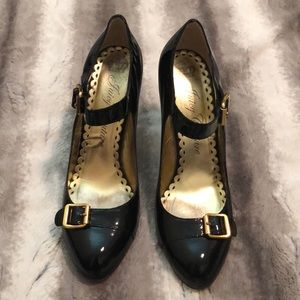 Juicy Couture patent leather heels